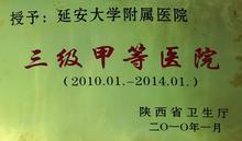延大附院团委获:2012年度陕西省五四红旗团委荣誉称号