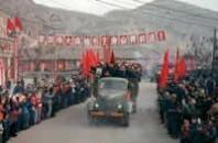 【图】延安人民热烈欢迎来自毛主席身边的知识青年
