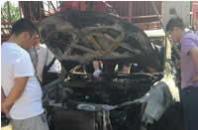 从宜川到佳县 比亚迪车行驶途中自燃致2死1伤